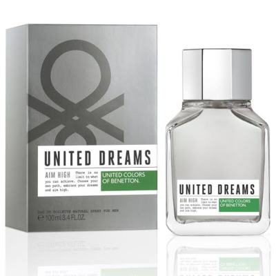 United Dreams Men Aim High Benetton Eau de Toilette Masculino - 100 ml