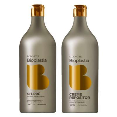Lowell Bioplastia Kit - Shampoo + Creme - Kit