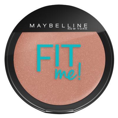 Imagem 2 do produto Fit Me! Maybelline - Pó Compacto + Blush para Peles Claras - Kit
