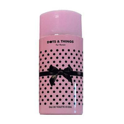 Dots & Things Pink Real Time - Perfume Feminino - Eau de Parfum - 100ml