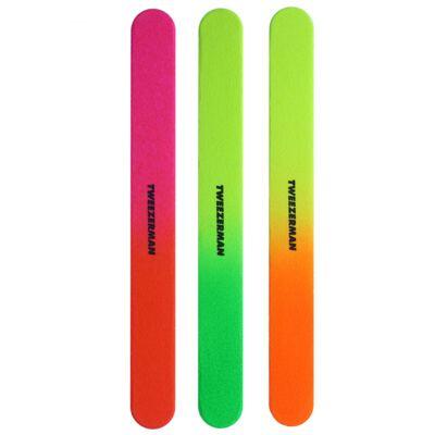 Imagem 2 do produto Neon Filemates Tweezerman - Lixa de Unha - Kit