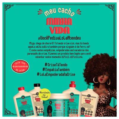 Imagem 2 do produto Lola Cosmetics Meu Cacho Minha Vida - Máscara Hidratante - 930g