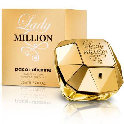 Imagem 1 do produto Lady Million Paco Rabanne Feminino Eau De Parfum - 80 ml