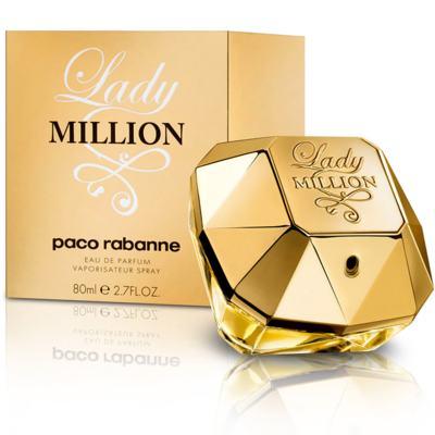 Imagem 1 do produto Lady Million Paco Rabanne Feminino Eau De Parfum - 30 ml