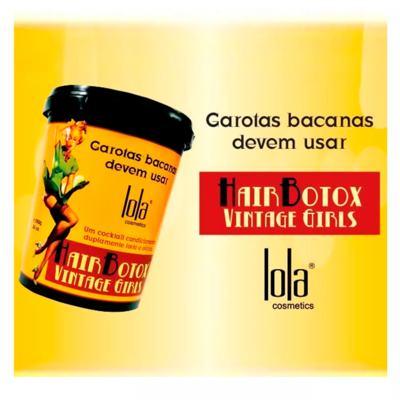 Imagem 4 do produto Lola Cosmetics Vintage Girls - Creme Alisante - 850g