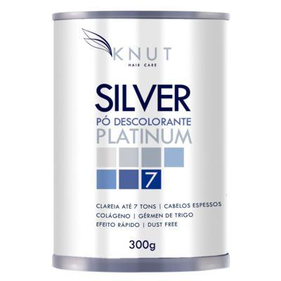 Pó Descolorante Colágeno Knut Silver Platinum - 300g