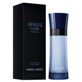 Armani Code Colônia Giorgio Armani - Perfume Masculino - Eau de Toilette - 75ml