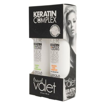 Imagem 1 do produto Kit Keratin Complex Smoothing Therapy Keratin Care Travel Valet - Kit