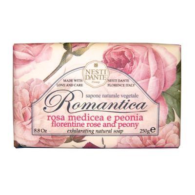 Imagem 1 do produto Romântica Rosas Florentinas com Essências de Peônia Nesti Dante - Sabonete Perfumado em Barra - 250g