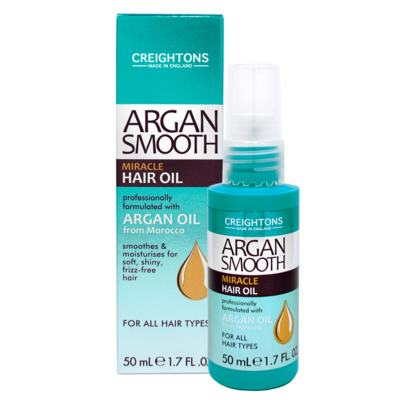 Imagem 2 do produto Creightons Argan Smooth Miracle Hair Oil - Óleo Capilar - 50ml