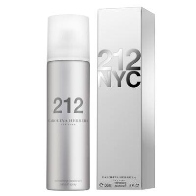 Imagem 2 do produto 212 NYC Desodorant Carolina Herrera - Desodorante - 150ml