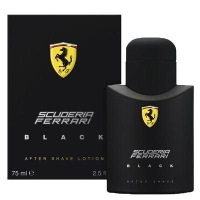 Imagem 2 do produto Scuderia Black After Shave Lotion Ferrari - Loção Pós-Barba - 75ml