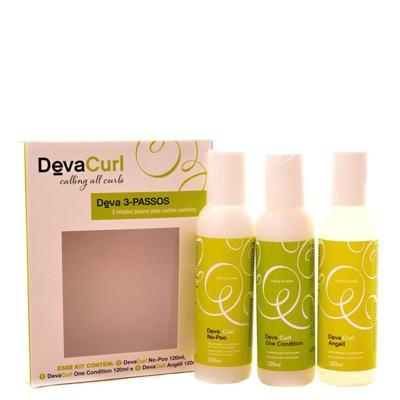 Imagem 1 do produto Kit Higienizador Condicionante Deva Curl Deva Curl 3-Passos - kit