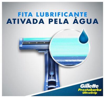 Imagem 3 do produto Aparelho de Barbear Gillette Prestobarba Ultragrip - 2 Unidades