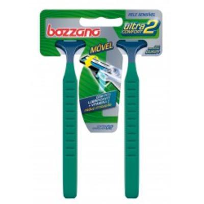 Imagem 1 do produto Aparelho de Barbear Bozzano Ultra Confort 2 Com 2