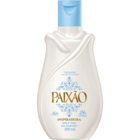 Hidratante Paixão Óleo de Amêndoas Ação Desodorante - Inspiradora | 200ml