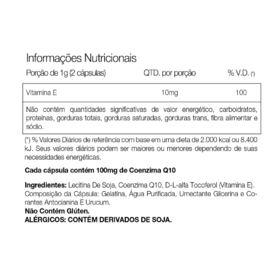COQ 10 100Mg - 30 Cápsulas - Vitafor