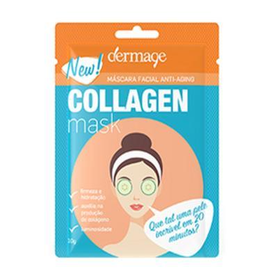 Máscara Facial Anti-idade Dermage - Collagen Mask - 10g