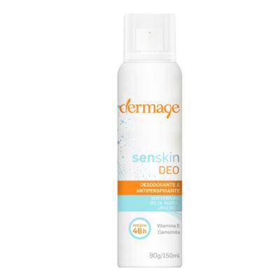 Desodorante Antitranspirante Dermage Unissex - Senskin Deo Aerosol - 150ml