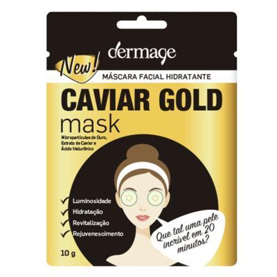 Imagem 1 do produto Máscara Facial Hidratante Dermage Caviar Gold Mask - 10g