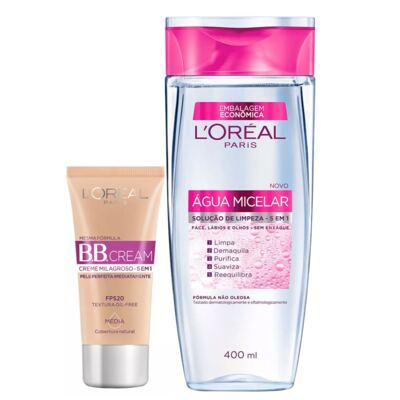 L'Oréal Paris Água Micelar + Dermo Expertise Ganhe 31% Kit - Água Micelar + BB Cream - Kit