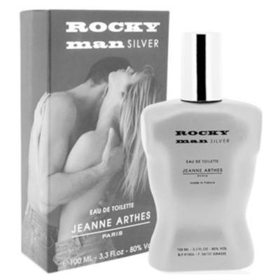 Imagem 2 do produto Rocky Man Silver Jeanne Arthes - Perfume Masculino - Eau de Toilette - 100ml