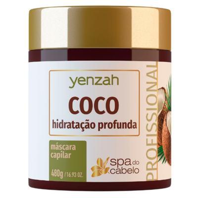 Máscara de Hidratação Profunda Yenzah - SPA do Cabelo Coco - 480g