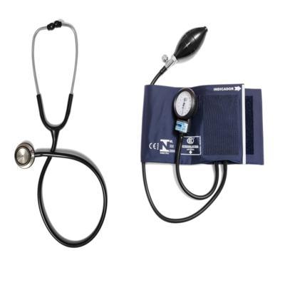 Imagem 6 do produto Aparelho de Pressão com Estetoscópio Inox Master Duplo Azul CJ0939 Bic