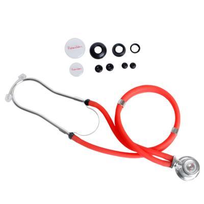 Imagem 1 do produto Kit Esteto Rappaport com Aparelho de Pressão Vermelho Premium