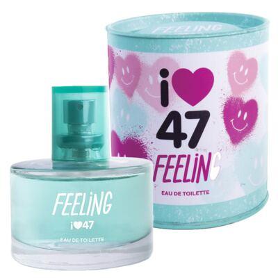 Imagem 1 do produto Feeling 47 Street - Perfume Feminino - Eau de Toilette - 60ml