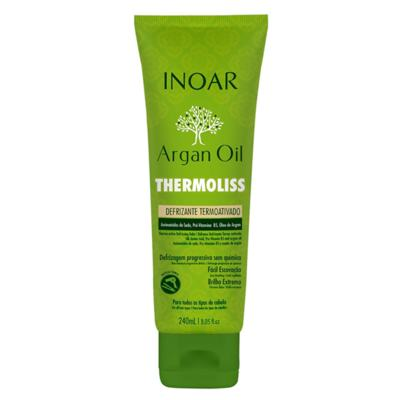 Imagem 1 do produto Inoar Argan Oil Thermoliss Desfrizante Termoativado - Balsámo Antifrizz - 240ml