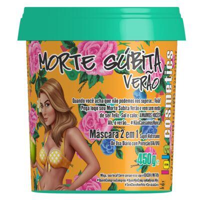 Imagem 2 do produto Kit Mascara 2 em 1 Lola Cosmetics Lola Morte Súbita Verão - 2x 450g