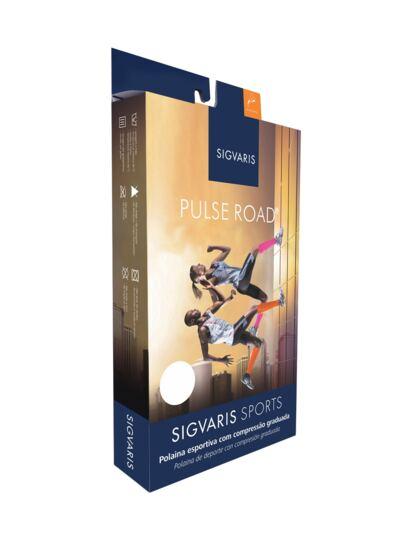 Imagem 2 do produto Polaina Esportiva Pulse Road Sigvaris - ROSA M