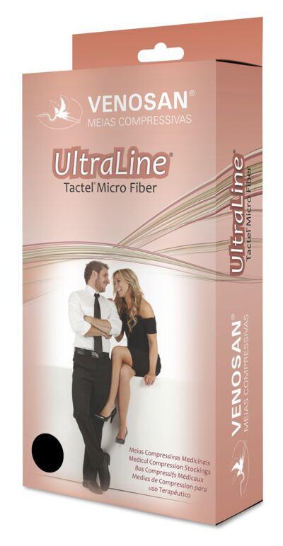 Imagem 2 do produto Meia Calça AT 30-40 mmHg Ultraline 4000 Venosan - PONTEIRA FECHADA BEGE P