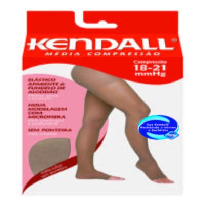 Imagem 1 do produto Meia Calça 18-21 mmHg Média Kendall - MEL PONTEIRA ABERTA GG