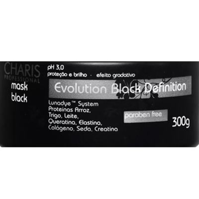 Imagem 2 do produto Charis Evolution Black Definition Mask Black - Máscara Capilar - 250ml
