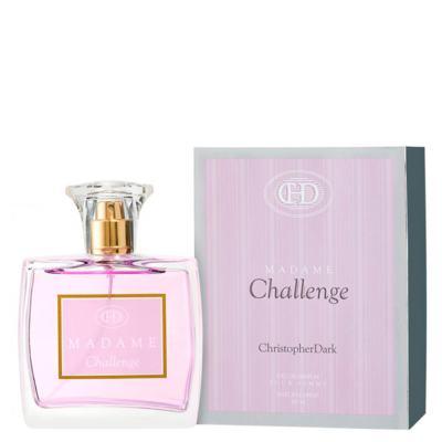 Madame Challenge Christopher Dark - Perfume Feminino - Eau de Parfum - 100ml