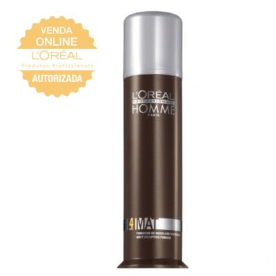 Imagem 1 do produto L'Oréal Professionnel Homme Mate Force 4 - Pomada Bastão - 80ml