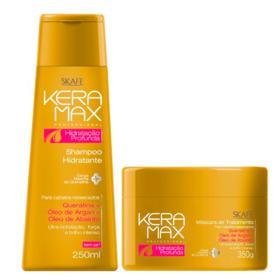 Skafe Keramax Hidratação Profunda Kit - Shampoo + Máscara - Kit