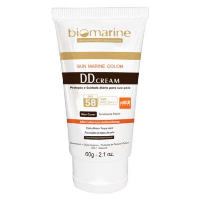 DD Blur Cream Fps58 Biomarine - Tratamento Antimanchas 60g - Bronze