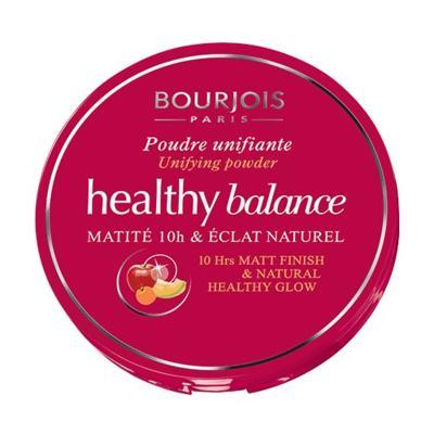 Imagem 3 do produto Healthy Balance Poudre Unifiante Bourjois - Pó Compacto - Hâlé Clair