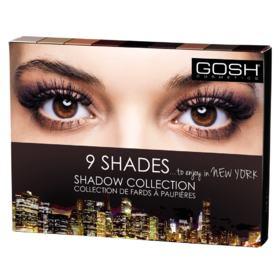 Paleta de Sombras Gosh Copenhagen - 9 Shades - To Enjoy In New York