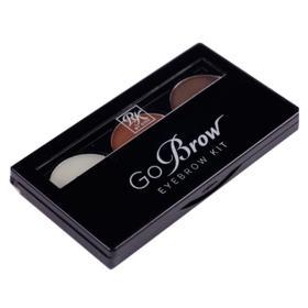 Kit para Sobrancelha RK by Kiss Nome - Chocolate Brown