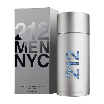 212 Men De Carolina Herrera Eau De Toilette Masculino - 200 ml
