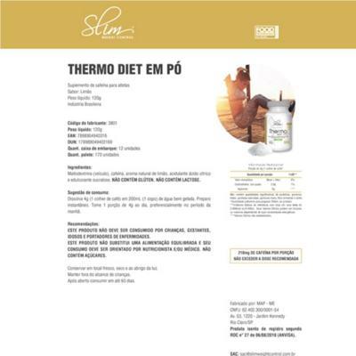 Imagem 3 do produto THERMO EM PÓ DIET 120G - SLIM - LIMÃO -