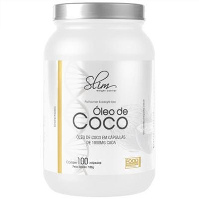 Imagem 1 do produto ÓLEO DE COCO 100CAPS - SLIM -