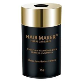 Disfarce para Calvície Hair Maker - Cobertura Instantânea - Castanho Escuro