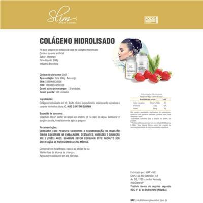 Imagem 3 do produto kit Slim Shake Diet Chocolate 300g + Reductor abdômen 60 caps + Colágeno 100 caps - Slim -