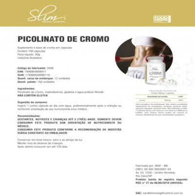 Imagem 3 do produto Kit Slim L-carnitina 480ml + Picolinato De Cromo 100caps + óleo De Cartamo 100caps + Coqueteleira - Slim -