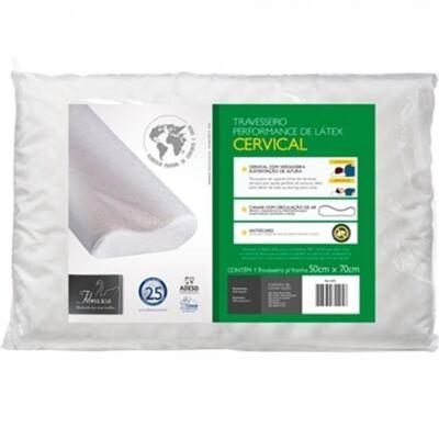 Imagem 2 do produto Travesseiro Perfomance de Látex Cervical Fibrasca